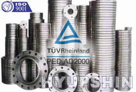 Jinan Hyupshin Flanges Co., Ltd, ISO9001:2008 Certified, Korean Standards Association Certified, Flanges Manufacturer