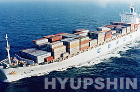 Jinan Hyupshin Flanges Co., Ltd delivery flanges by sea containers
