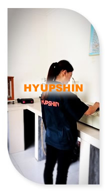 chemical testing for flanges materials, jinan hyupshin flanges co., ltd