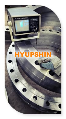 ultrasonic (UT) testing for flanges, jinan hyupshin flanges co., ltd
